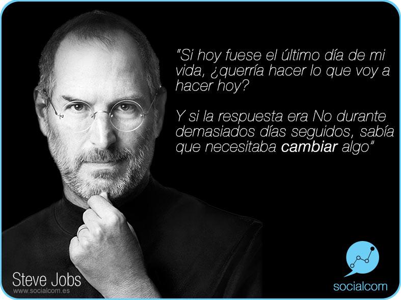 2fc825d428c Steve Jobs – Redes Sociales – Alicante – Empleo – Profesionales