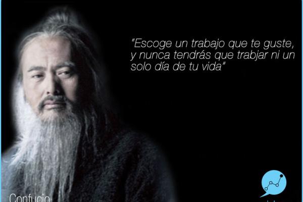 Frase Célebre de Confucio en el Día del Trabajador. por Socialcom Estrategia en Redes Sociales y Comunicación S.L.