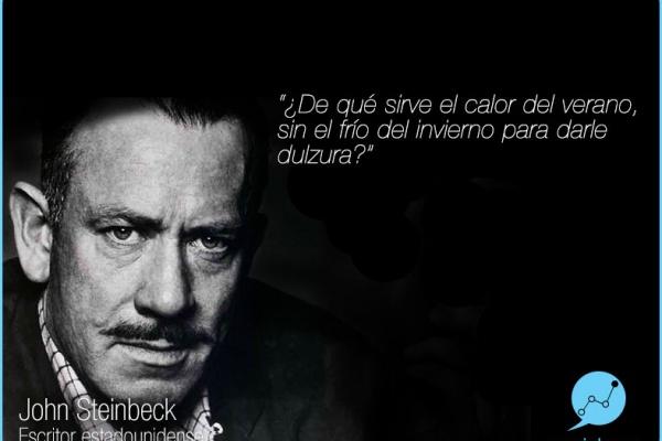 john Steinbeck por Socialcom Estrategia en Redes Sociales y Comunicación S.L.
