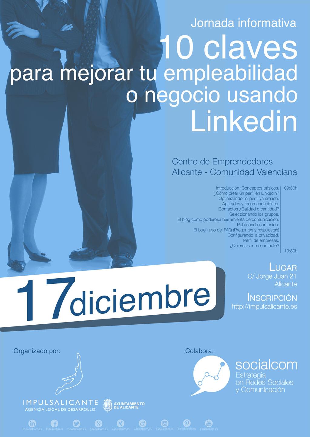 10 claves para mejorar tu empleabilidad o negocio usando Linkedin